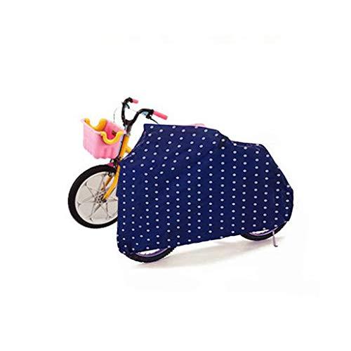 WILLQ Funda Bicicleta Impermeable/A Prueba de Polvo/A Prueba de Viento para Bicicleta Cochecito Balance-Bike Niños Bicicleta Scooter Coche,S