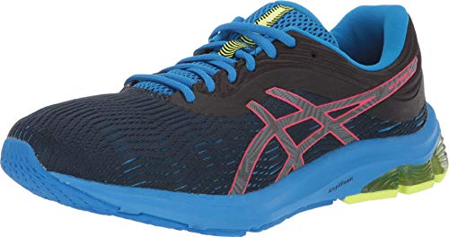 ASICS Men's Gel-Pulse 11 Lite-Show Running Shoes, 12M, Black/Laser Pink