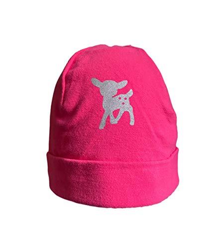Döll Jerseymütze Beanie Topfmütze (pink, 49)