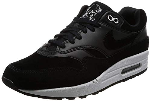 Nike - Air Max 1 Premium Sc Herren, Schwarz (schwarz/Chrom), 48 EU D(M)