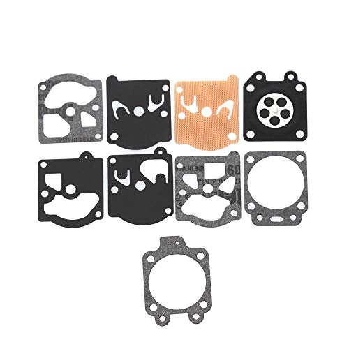Muchen New Echo Kit de reparación de juntas de carburador para motosierra, para WA/WT/Walbro Series K10/K20-WAT