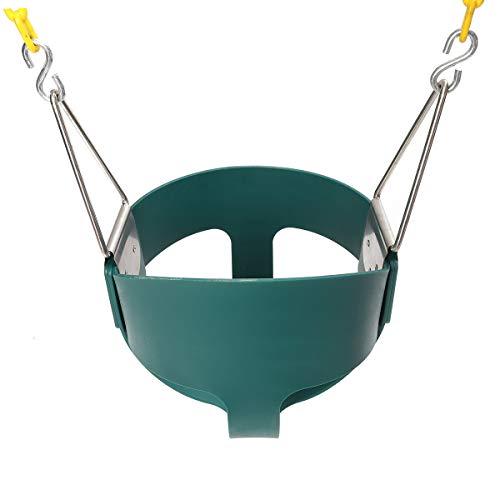 TuToy volledig gemonteerd hoge rug baby schommelstoel volledige emmer peuter speeltuin park huis tuin wieg