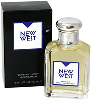 New West By Aramis For Men. Skin Scent Spray 3.4 Oz.