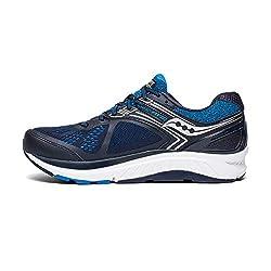 small Saucony Echelon 7 Men Running Shoes Navy Blue | Blue, 12 months
