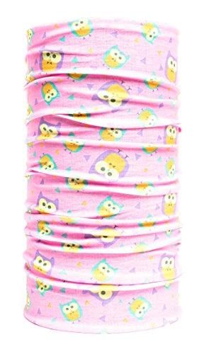 Nexi Kinder Multifunktions Tuch Schlauchtuch Jungen und Mädchen - universell einsetzbar als Schal, Kopftuch, Kälteschutz K01