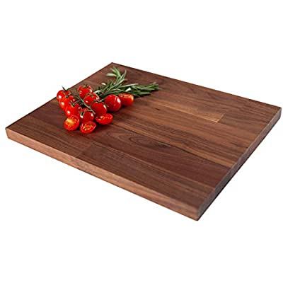 Solid Wooden Chopping Boards - Rectangular Hardwood Cutting, Serving and Carving Blocks