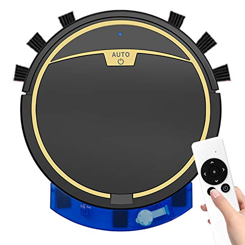 Robot Vacuum Cleaner, 2-in-1 Mopping, soieho 2800PA Robotic Vacuum Cleaner with Multiple Cleaning Modes, Water Tank, Super-Thin, Upgraded Robot Vacuums, Ideal for Pet Hairs