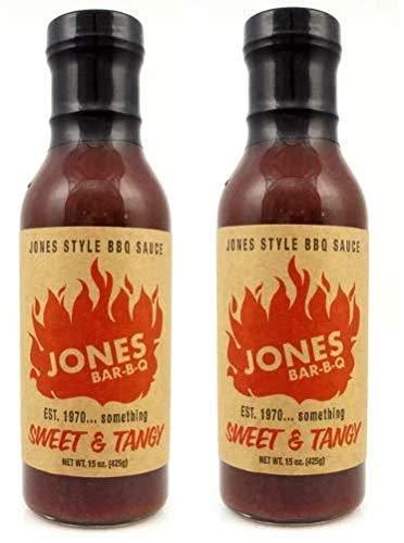 JONES BAR-B-Q - Original Sweet & Tangy BBQ Sauce - 2 Pack