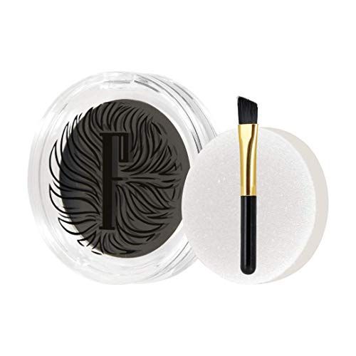 Fidentia Eyebrow Thickener   Augenbrauenpuder für natürlich dichtere Augenbrauen   Alternative zu Augenbrauenfarbe (Schwarz)