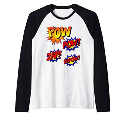 Comic Book Pow Kapow Zap Funny Retro Superhero Costume...