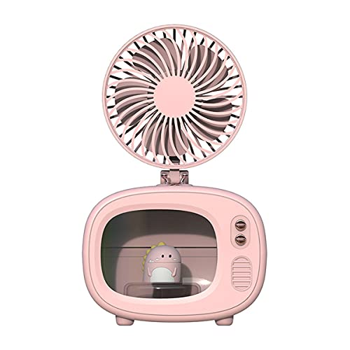 YUE Cooler Portable Usb Air Conditioner Mini Handheld Fan Table Air Cooler 3 Wind Speeds Desk Air Circulator For Office Home Bedroom Dorm Travel
