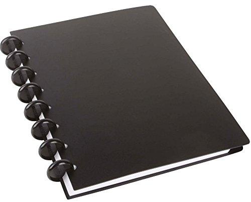 Spiralbuch arc PP befüllbar schwarz A5 60 Blatt 22013