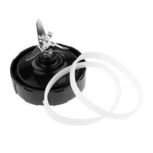 Dreld 7 pinne e 2 guarnizioni di ricambio per frullatore Nutri Ninja Auto iQ BL482 BL642 NN102 BL682 BL2013