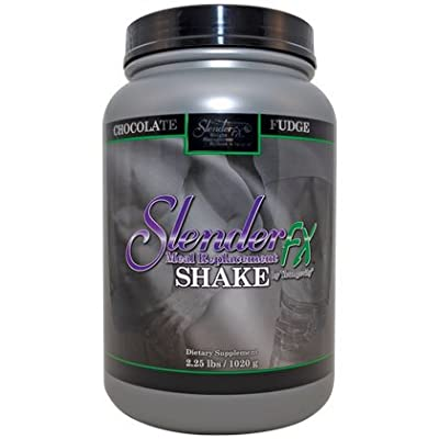 Slender Fx Meal Replacement Shake - Chocolate Fudge - 2.25 lbs. - 6 Pack