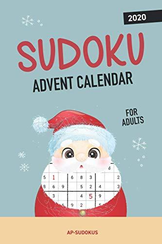 Sudoku Advent Calendar for Adults: Alternative Christmas Advent Calendar with over 70 Sudoku Puzzles
