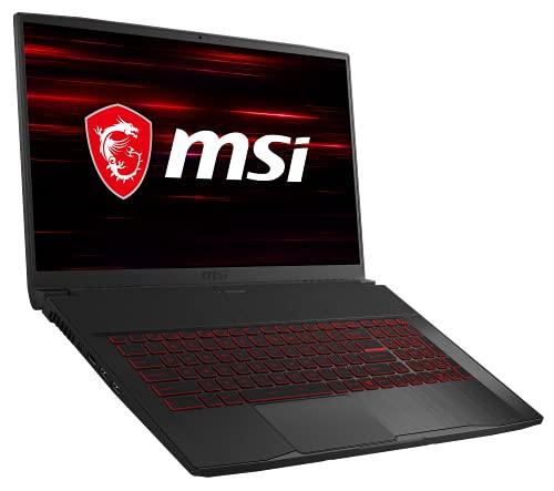 MSI GF75 Thin 10SC-067 (17,3 Zoll / 144Hz) Gaming-Laptop (Intel Core i7-10750H, 4GB DDR6 VRAM 512GB, Windows 10 Home)