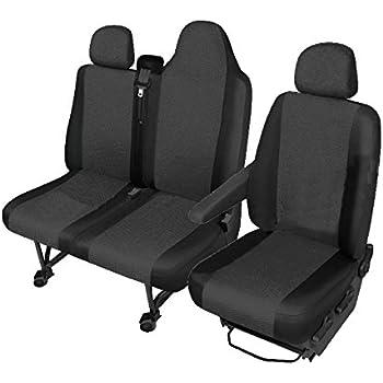 Sitzbezüge cuir synthétique noir convient pour NISSAN nv400 Master Movano Renault