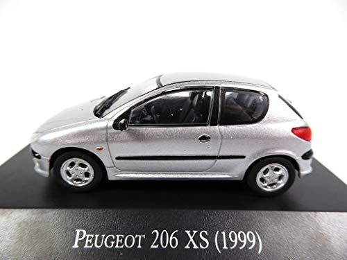 OPO 10 - Peugeot 206 XS (1999) Salvat 1/43 (AR60)