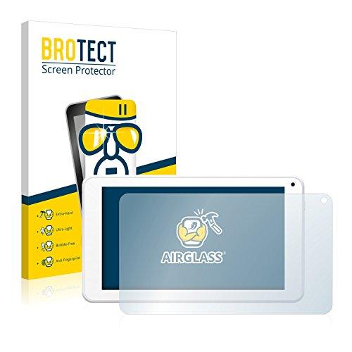 BROTECT Panzerglas Schutzfolie kompatibel mit BigBen Unity Tab 7 - AirGlass, 9H Festigkeit, Anti-Fingerprint, HD-Clear