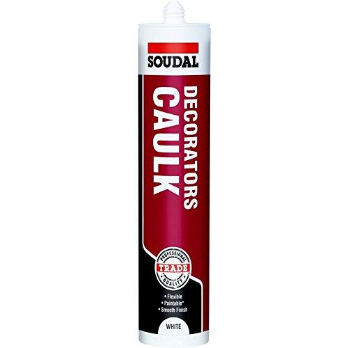 Decorators Caulk Soudal - 300 ml - Trade - White (6)