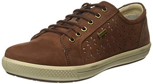 Woodland Women's Rust Brown Sneakers - 4 UK/India (37 EU)(LS 2563117R)