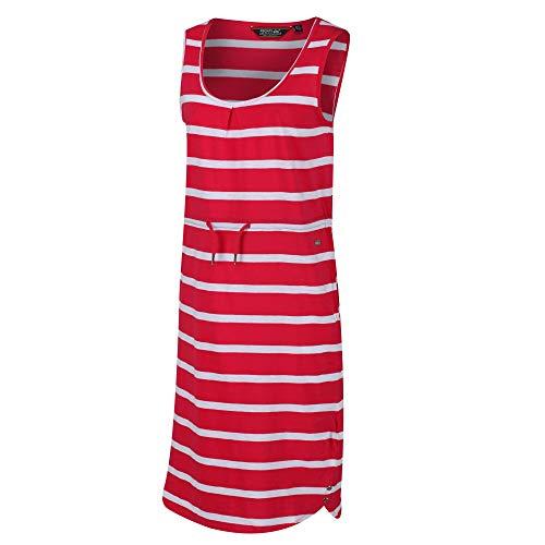 Regatta Felixia' Adjustable Waist Curved Neckline Sleevless Casual Dress Women's, Virtual Pink, 20