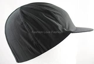 King. J Spandex Visor Dome Cap - Black #201 by King J
