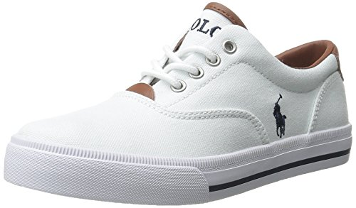 Boy Polo White Canvas Shoes