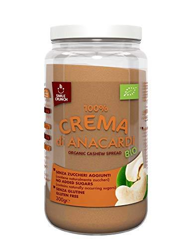 Smile Crunch 100% Crema Di Anacardi Bio - 300 Gr
