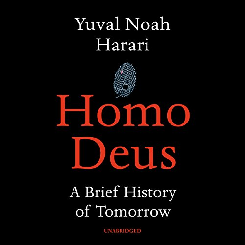 Homo Deus audiobook cover art