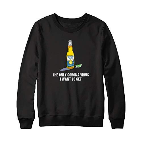 The Only Córónávírús I Want To Get Funny Shirt – Funny Paper Coroona Beer Shirt For Men – Córónávírús Against Strong Usa Handmade Shirt (2) Customize Sweatshirt 5065