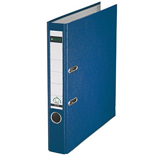 Leitz 10155035 Qualitäts-Ordner (Plastik-Cover, A4, 5,2 cm Rückenbreite) blau