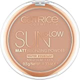 Catrice Mate Sun Glow Polvos Bronceadores, 030 Medium Bronze - 9.5 g