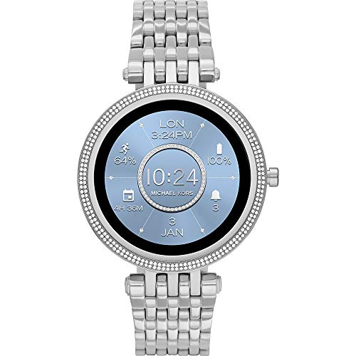 Michael Kors Connected Smartwatch Gen 5E Darci para Mujer con tecnología Wear OS de Google, frecuencia cardíaca, GPS, NFC y notificaciones smartwatch