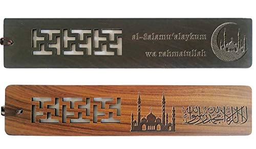 Islamic Gifts Muslim Wooden Quran Bookmark