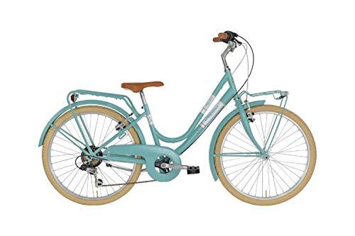 Alpina Bike Milly, Bicicletta 6v Bambina, Acquamarina, 24