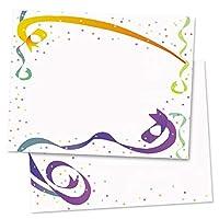 PaperDirect リボンと紙吹雪ポストカード 標準サイズ 100枚