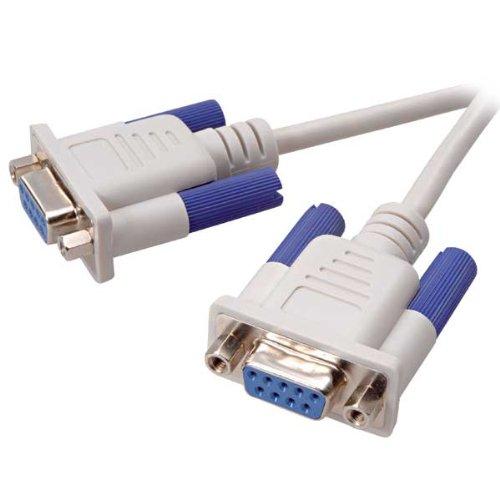 Vivanco Nullmodem Kabel 9-polig SUB-D Kupplung 3.0 m