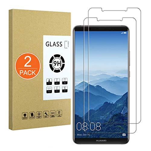 X-Division [2 Pack] Vetro Temperato Compatibile con Huawei Mate 10 PRO,[Ultra Resistente,Senza Bolle,Facile da Installare] Pellicola Salvaschermo per Huawei Mate 10 PRO