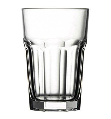 Pasabahce 52708 Casablance Longdrinkglas, 355 ml, Glas, transparent, 12 Stück