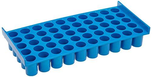 Neolab 2 2333 - Estantería para botellas (5 x 10 plazas, policarbonato), color azul