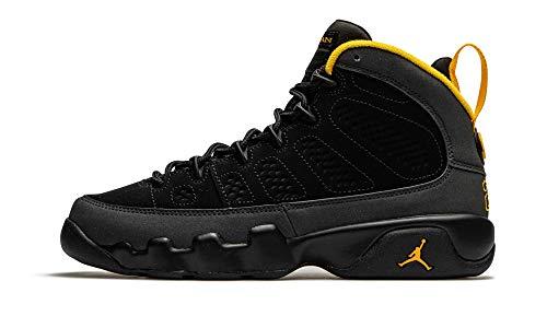 Jordan Big Kids 9 Retro Black/Dark Charcoal-University Gold (302359 070) - 7