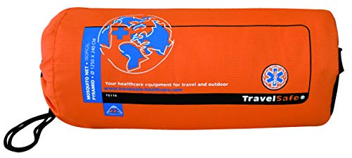 TRAVELSAFE Unisexe Ts115 Mosquitonet, Pyramide, Tropical Proof, 1–2 Personnes, Blanc