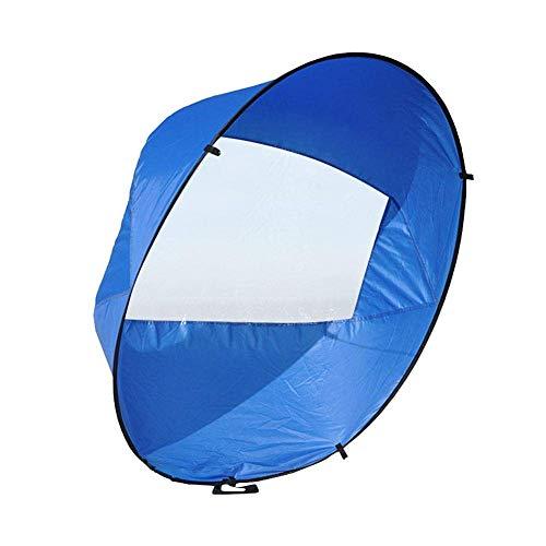 Iwinna 42 Downwind Wind Sail Kit Kayak Wind Sail Kayak with Storage Bag Foldable Sail Paddle Board Accessories For Kayak Boat Sailboat Canoe