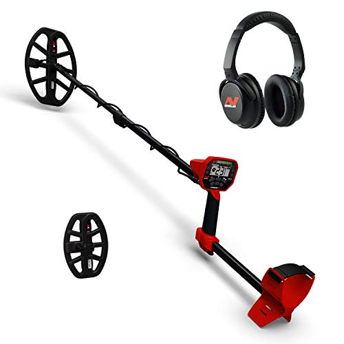 Minelab Vanquish 540 Pro Pack Metal Detector with Water Proof 12x9 and 8x5...