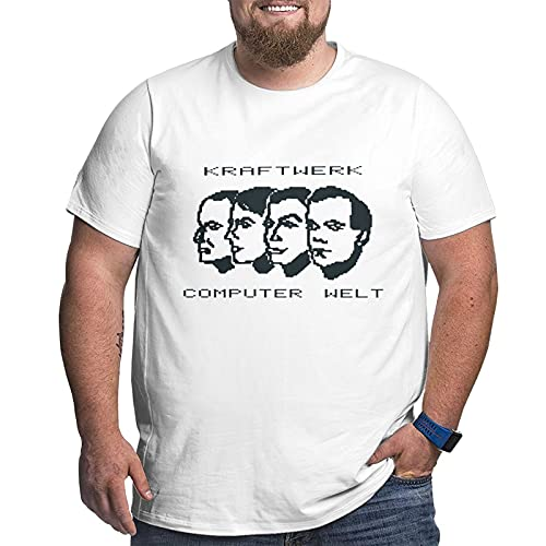 Kraftwerk Computer Welt (World) Plus Size T-Shirt, Size 4XL