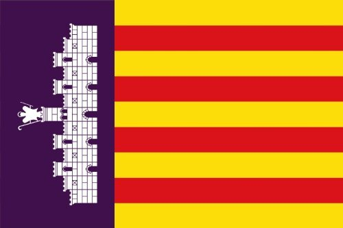 Spanje Spaanse vlag Mallorca 5'x3'