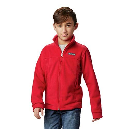 Columbia Boys' Toddler Steens Mt II Fleece Jacket, Mountain Red, 4T