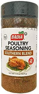 5.5 oz Bottle Poultry Seasoning Southern Blend Sazon Pollo Asado Kosher