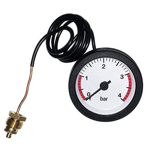 Medidor de presión de caldera KG-Part 39803890 para Ferroli Domina F24, Domina C24, Domina C24E, Domina F24E, Domina VMC24E